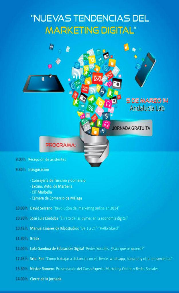 20140224 iJornadas Nuevas Tendencias Marketing Digital