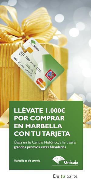 Campaña de Navidad, Unicaja va a realizar una acción promocional con el objetivo de promover la actividad comercial