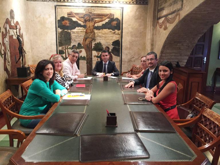 Reunión APYMEM y Ayto. de toMarbella