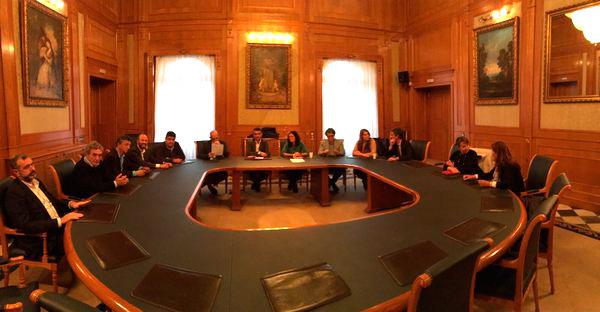 Reunión Ayto. Marbella y asociaciones (APYMEM)