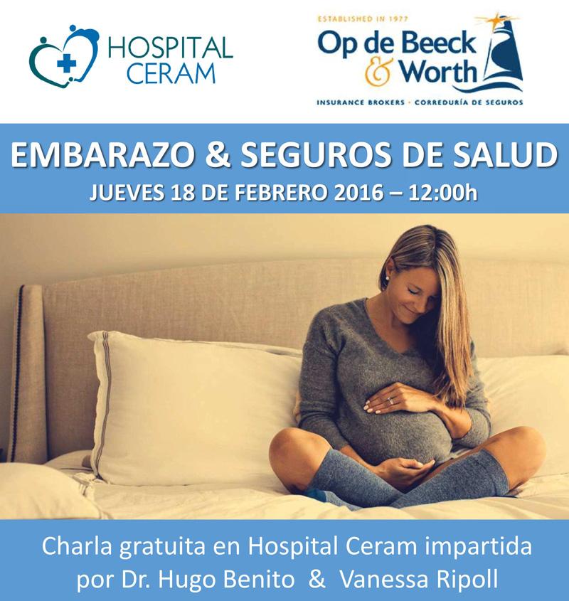 Embarazo y seguros Hospital CERAM