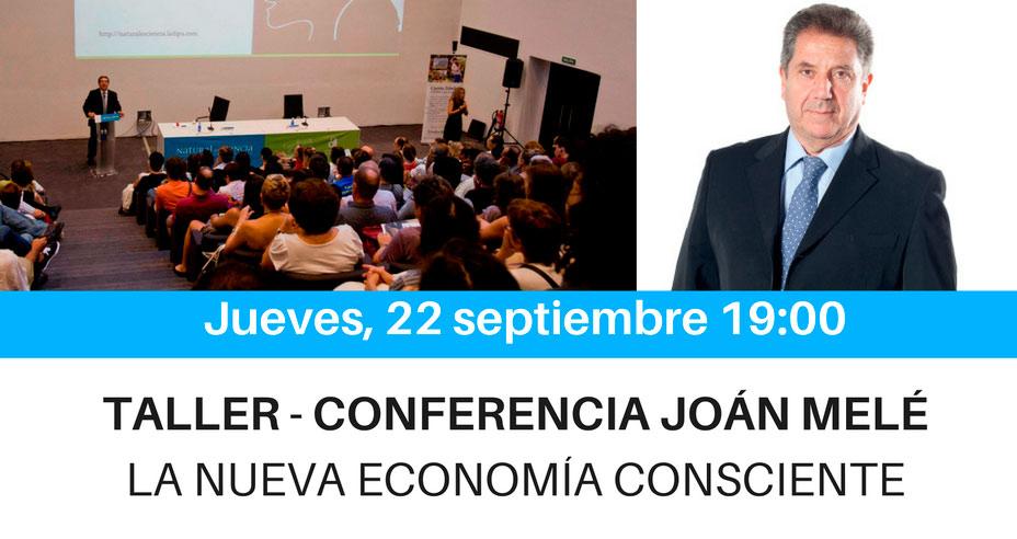 Taller-Conferencia Joan Melé 22 septiembre
