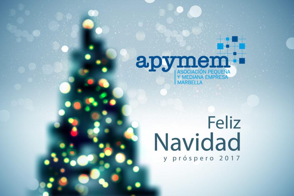 Feliz Navidad. Apymem - Marbella