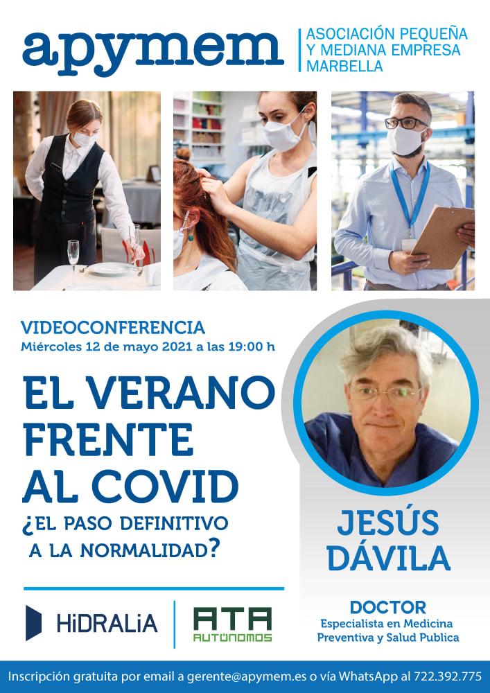 """""""EL VERANO FRENTE AL COVID"""" ¿El paso definitivo a a normalidad?"""